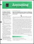 Legal Magazines & Periodicals Accounting for Law Firms
