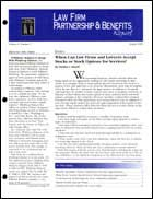 Legal Magazines & Periodicals Law Firm Partnership & Benefits Report