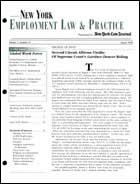 Legal Magazines & Periodicals New York Employment Law & Practice