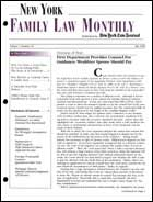 LawBuys Legal Magazines, Legal Newspapers, and Law Journals - New York Family Law Monthly